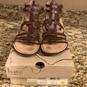 BOC brown sandals